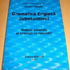GRAMATICA ENGLEZA ( Substantivul ) - Roxana Nastase - Teste admitere facultate