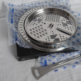 Set pentru oale Zepter: inel reductor+razatoare+spatula - NOU