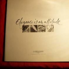 Catalog Ceasuri Longines -Eleganta este atitudine