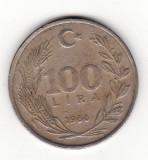 Turcia 100 lire 1988, Europa