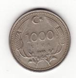 Turcia 1000 lire 1993