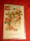 Felicitare - Carte Postala TCV - Porumbei , Germania cca.1913