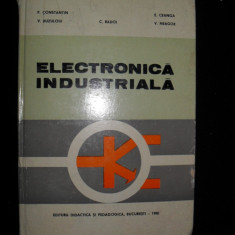 Electronica industriala, P. Constantin - Carti Electronica