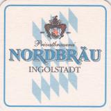 Suport de pahar / Biscuite NORDBRAU - Cartonas de colectie