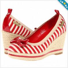 Pantofi MICHAEL KORS Tomato - Sandale Dama, Femei - 100% AUTENTIC - Pantof dama Michael Kors, Culoare: Din imagine, Marime: 38, Cu platforma