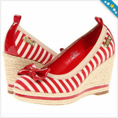 100% AUTENTIC - Pantofi MICHAEL KORS Tomato - Pantofi Dama, Femei - Pantofi Originali MICHAEL KORS - Pantof dama Michael Kors, Marime: 38