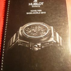 Catalog Ceasuri de lux Hublot 2010, 34 pag.