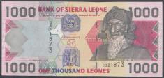 Sierra Leone 1000 leones 2002 UNC foto