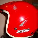 Casca moto XC-TING warning, S