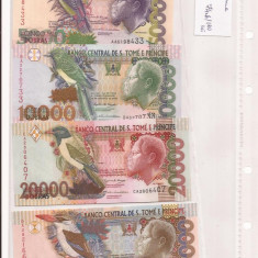 Complet banknote Sao Tome & Principe - Uncirculated condition