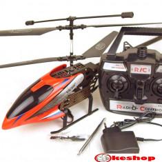 PROMOTIE ! MEGA ELICOPTER RADIOCOMANDAT 52 CM CU 3, 5 CANALE SI GYRO INCLUS, METALIC, ZBOARA CA UNUL REAL. - Elicopter de jucarie, Unisex