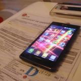Lg :L7 impecabil - Telefon mobil LG Optimus L7, Negru, Neblocat