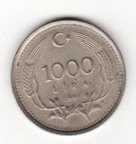 Turcia 1000 lire 1991
