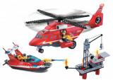 Jucarie tip Lego - Statie Pompieri Acvatica seria Rescue Ieftin