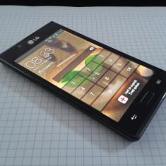 LG L7 - Telefon mobil LG Optimus L7, Negru, Neblocat