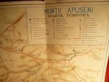 Harta Turistica - Muntii Apuseni