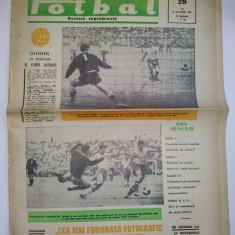 Revista FOTBAL - joi 15 decembrie 1966 Nr. 29