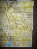 Harta Turistica a Republicii Moldova