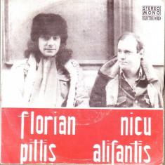 Vinil-Florian Pittis, Nicu Alifantis - Muzica Folk electrecord