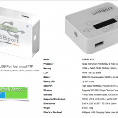 iUSB PORT CLOUD FTP Hyper Drive USB conectare wi-fi smartphone tableta PC laptop