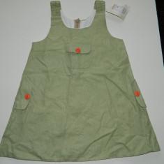 Sarafan de vara rochita pentru fetite, marimea 86, pentru 2 ani, nou cu eticheta!