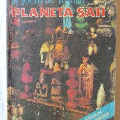 LITERATURA SI JOCURILE MINTII. PLANETA SAH. Almanah estival 1985