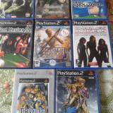 vand jocuri PS2,originale,actiune,aventura,pachet de 8 bucati