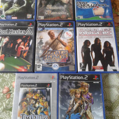 Vand Jocuri PS2 Activision, originale, actiune, aventura, pachet de 8 bucati, Toate varstele, Multiplayer
