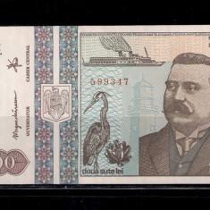 BANCNOTA 200 LEI 1992 - UNC - Bancnota romaneasca