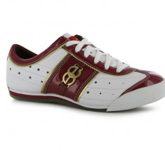 Adidas Marc Ecko original piele naturala - Pantof dama Ecko, Culoare: Alb, Marime: 38.5, Cu talpa joasa