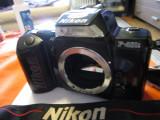 aparat foto film SLR 35mm NIKON F 401S fara obiectiv
