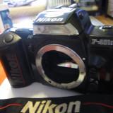 Aparat foto film SLR 35mm NIKON F 401S fara obiectiv - Aparat Foto cu Film Nikon, Mediu