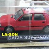 Macheta metal DeAgostini Dacia SuperNova SIGILATA + revista Masini de Legenda 45 - Macheta auto, 1:43
