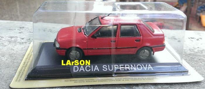 Macheta Dacia SuperNova 2000 - DeAgostini Masini de Legenda 1/43