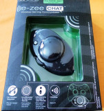 E-zee Chat wireless gaming comunicator, compatbil xbox360, nou, sigilat!