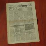 Ziar - SPORTUL - anul XLI - nr. 10927 - vineri 1 Februarie 1985 - 4 pagini