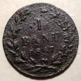 R.039 ROMANIA 1 BANU 1867 W
