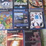 vand jocuri PS2,originale,actiune,aventura,pachet de 16 bucati