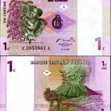 CONGO- 1 CENTIME 1997- UNC!!