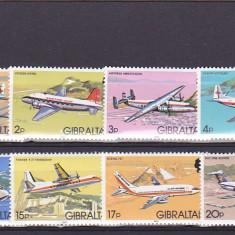 Aviatie de transport, Gibraltar. - Timbre straine, Europa