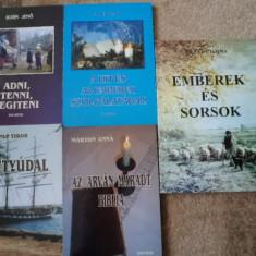 Pap tibor hattyudal marton anna az arvan maradt biblia lot 5 carti lb maghiara - Carte in maghiara