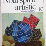NOUL SPIRIT ARTISTIC - NICOLAS SCHOFFER, Alta editura