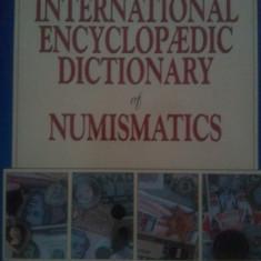 The International Encyclopaedic Dictionary of Numismatics de R. Scott Carlton, carte foarte groasa si full color, 200 roni, taxele postale gratuite