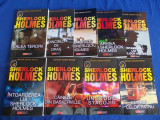 ARTHUR CONAN DOYLE - SERIA SHERLOCK HOLMES * 9 VOLUME - BUCURESTI - 2003-2006