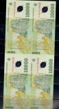 COALA NETAIATA DE 4 BANCNOTE 10 000 LEI + CERTIFICAT DE AUTENTICITATE