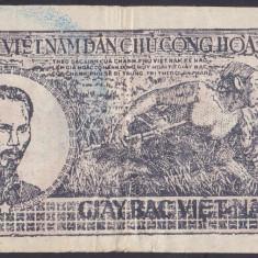 Bancnota Vietnam 5 Dong (1948) - P17 VF