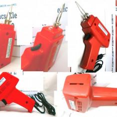 Pistol de lipit cu fludor, cositor Fabricatie Polonia 100 W