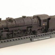 Macheta locomotiva Mikado Pennsylvania scara 1:160