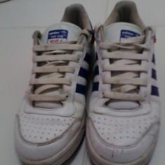 Adidasi Adidas - Adidasi barbati, Marime: 40, Culoare: Alb, Alb, Piele naturala