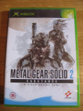 JOC XBOX clasic METAL GEAR SOLID 2 SUBSTANCE ORIGINAL PAL / STOC REAL / by DARK WADDER, Actiune, 16+, Single player